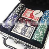 Brybelly Ultimate 100pcs Poker Heavyweight Chip Set with Locking Aluminum Case numbered made in china                                                                         Quality Choice