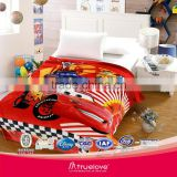 Hot Sale 100% polyester knit polar fleece sublimation printed NFL blankets                                                                         Quality Choice