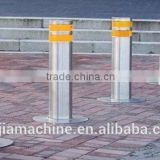 Automatic out door traffic cone Traffic forbidden pillars lifter station with LED light Max. 100-1000mm 24v linear actuator