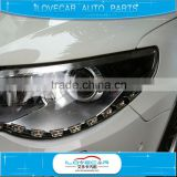 high power white / yellow flexible led strip light / S8 led daytime running light / flexible drl