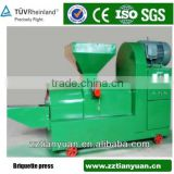 2015 new design high production wood sawdust briquette charcoal extruder machine for sale