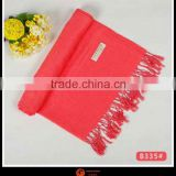 fashion style stoles and shawls solid viscose shawl Silky Soft Solid Shawl scarf viscose