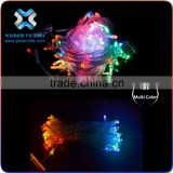 2016 christmas Cheap Super Bright Multicolored strobe light string for holiday party wedding decoration