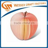 2014 hot sale apple shaped sticky note