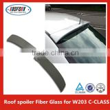 UnPainted roof spoiler Fit For B ENZ C W203 Spoiler 4DR Sedan Rear Trunk Lip Spoiler Wing