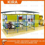 kids and adults obstacle course ropes indoor adventure playground                                                                         Quality Choice