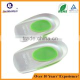 Wholesales pu gel insoles height increasing gel insoles high heel shoe soles sticky gel pad