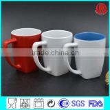 cheap ceramic coffee mugs with custom logo for promotional item                                                                                                         Supplier's Choice