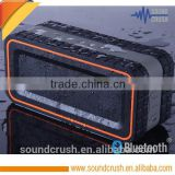 China supplier new waterproof speaker, hand free bluetooth speakers car used with inner microphone