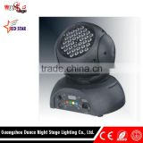Auto Sound Dmx512 Master-slave Control LED Wash Moving Head Light