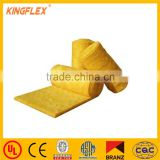 Aluminum foil insulation blanket laminated fiberglass cloth for glass wool facing
