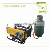 stable performance portable single cylinder iso ce approved lpg natural gasoline generator