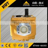 D85A-18/D80A-18/D80P-18 hydraulic pump 07444-66103 gear pump whole sale price with high quality