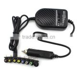 80W Universal Laptop Car DC Charger Notebook Power Adapter- HP/DELL/IBM ThinkPad