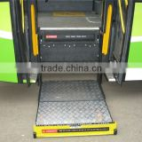 Power wheelchair elevator lift WL-Step-1200 Series Wheelchair Lift for Bus and school bus