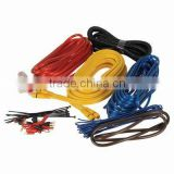 HOTing 4ga Power Cable Amplifier Installation Wiring Kit, Includes Butt Connectors and AGU Fuse Holder