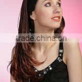 Wholesale 1/2 half head braided synthetic hair wigs for black women