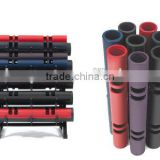 Fitness training rubber VIPRS weightlifting rubber rolls