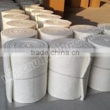 thermal heating blanket for refractory furnace in glass industry