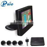 Car LCD Digital and Color Display Smart Parking Sensor Reversing Aid System with Front and Rear Sensors