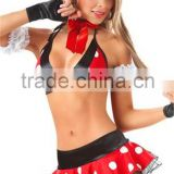 High quality wholesal carnival costumes for women sexy mice costumes for adult