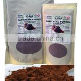Bulk Packaging Pure RAW CACAO POWDER, Un-Defatted, 100% Natural, Un-Refined