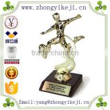 2015 chinese factory custom made handmade carved hot new product lovely polyresin world cup soccer trophy