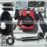 4 stroke bike engine kit for motorized bicycle , 4 cycle motorized bicycle bike gas engine kit