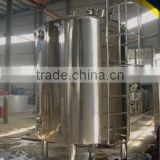 high quality sanitary stainless steel water storage tank with insulation system