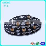 High quality round shape acrylic wine rack beer cup stand holder & balck wine display stand