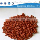 (EP-02) Red EPDM rubber granules , factory direct sale EPDM granule raw material popular colorful recycle rubber granule