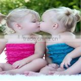 2014 wholesale infant lace ruffle romper,Multicolor optional RO007