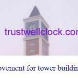 four 4 sides tower building clocks with GPS Synchronization
