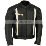 Motorbike Leather Jacket/ Stylish Real Leather Jacket For Men / Motorbike Leather Jacket