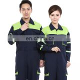 OEM Manufacturer Full Sleeved Coverall Suit One-Piece Mechanic Work Uniform Overalls for Adult