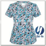 nurse uniform junior fit cheap medical scrub