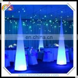 High quality inflatable led cone, party led colomn for advertising , stage lighting tower horn for decor