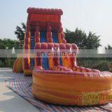 Cheap commercial best quality inflatable water slide for sale WS061