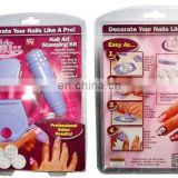 Salon Express Combo of Nail Art Paint Plus the Stamping Kit