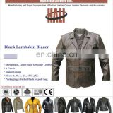 100% Genuine Sheep leather blazer | Mens Leather Blazer