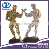 wholesale Polyresin bodybuilding sculpture trophy