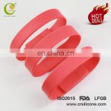 High Quality Colorful Custom Silicone Wristbands Usb Flash Drive Bracelet Drive