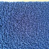 small particle short plush knit polyester fabric
