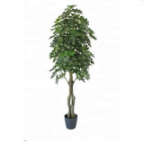new  design artificial bonsai green olive tree for decoration