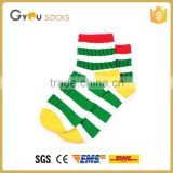 Cute very cheap 100% Stripes boy child tube printing socks