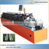 colored steel roll forming keel machine manufacturer china supplier/metal L angle wall corner making line