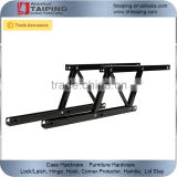 2PCS Folding Lift up Top Table Mechanism Hardware Fitting Hinge Spring Standing Desk Frame