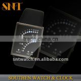 new arrival LED watch,leather band
