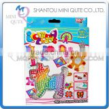 Mini Qute DIY Ironing Hama Perler Beans 3D Jigsaw Puppy pattern Model building block educational toy (Accept OEM) NO.BT-0053B-3