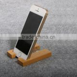 Easy to carried wooden mobile phone organizer stand